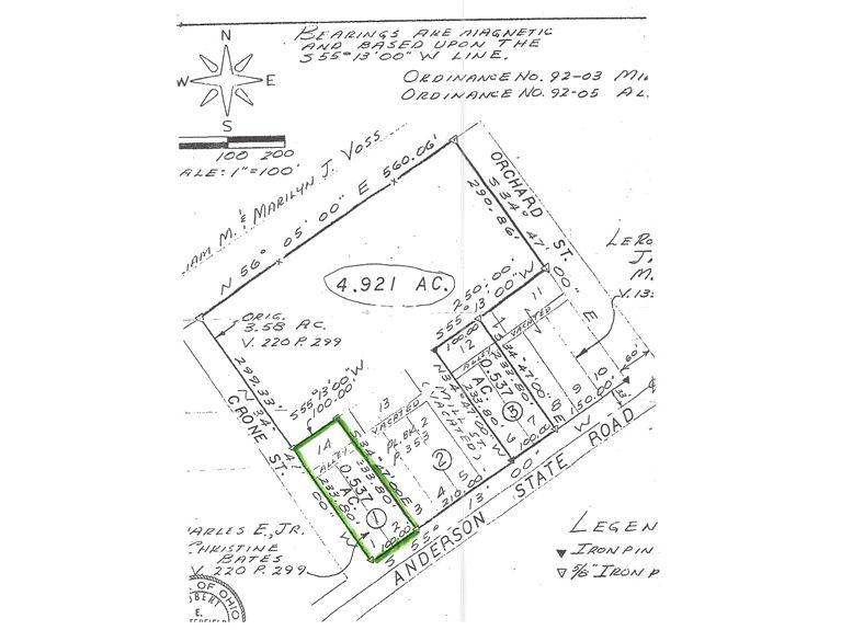 0.536ac  Anderson State Rd