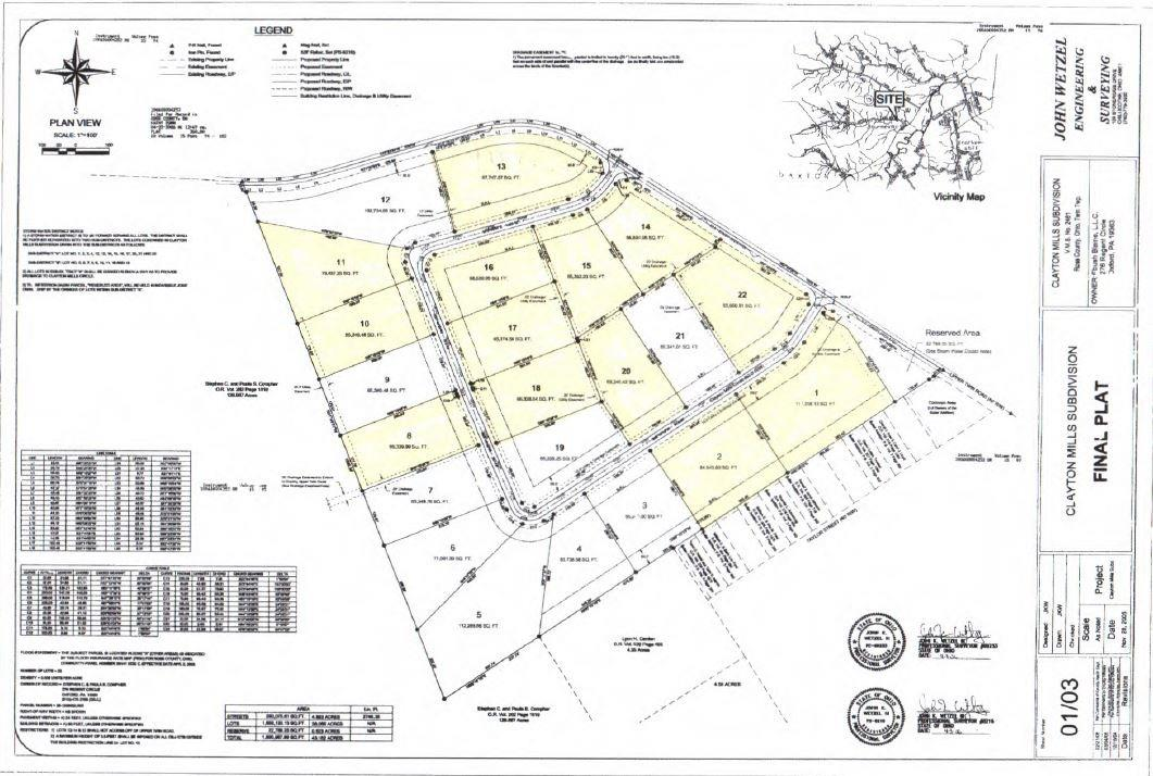 Lot13 Clayton Mills Cir Twin Twp OH