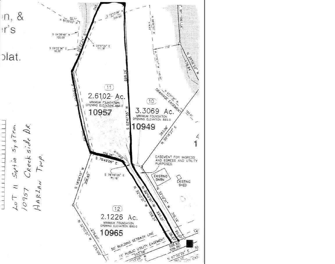 10957 Creekside Dr Lot11 Harlan Twp OH