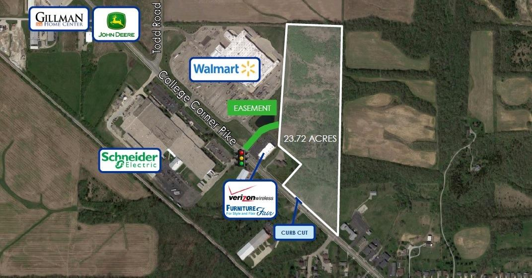 23.72ac College Corner Pk Oxford OH