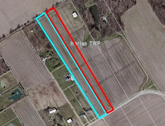 10.001ac Whitacre Rd Harlan Twp OH