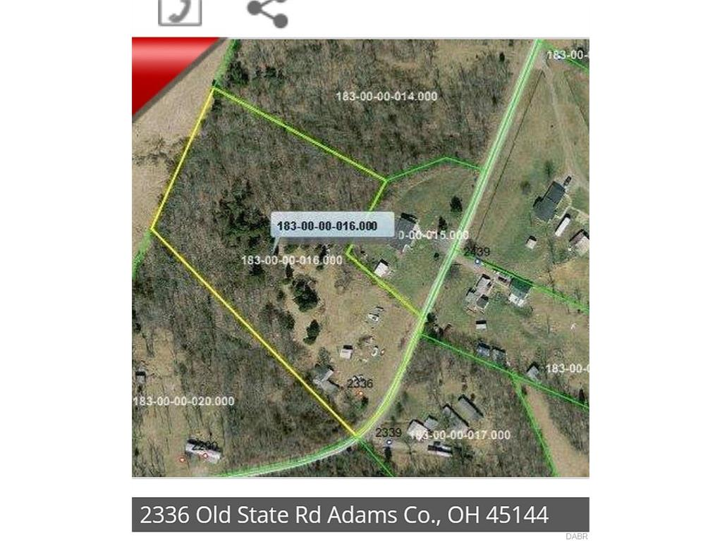 2366 Old State RD MANCHESTER OH