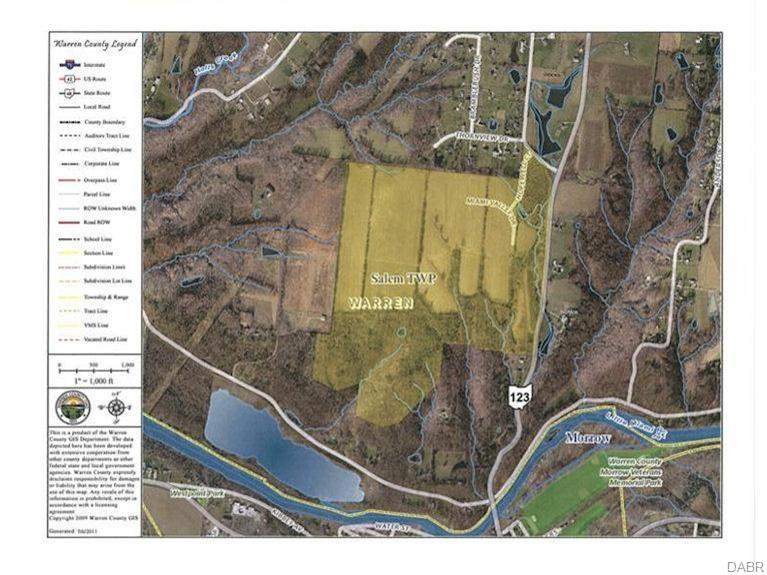 203.43 acres Route 123 MORROW OH
