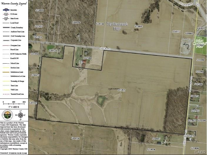 87 Acres Jack RD LEBANON OH