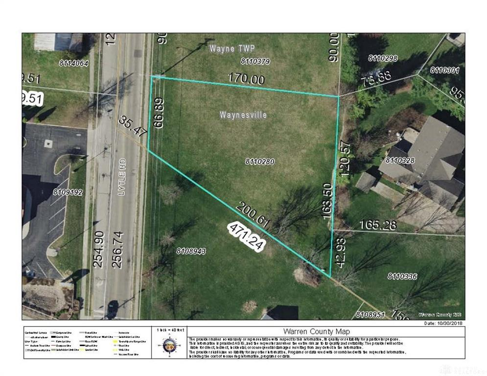 Lot #12 Lytle RD WAYNESVILLE OH