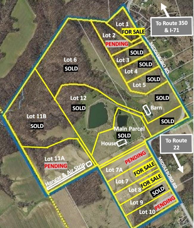 2247- Lot 2 Middleboro RD CLARKSVILLE OH