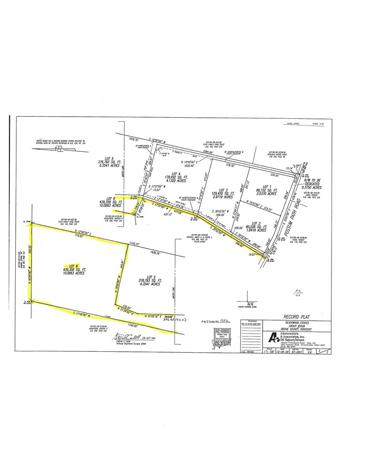 Lot 6 Gavin Lane Burlington KY