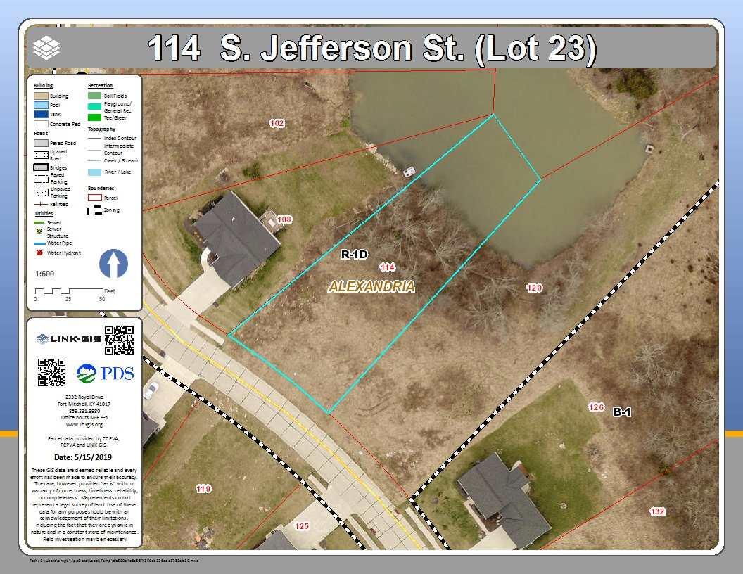 114 S Jefferson Street Alexandria KY
