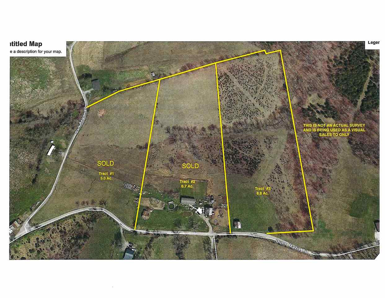 8.8 Acres Dunn-Mazie Williamstw KY